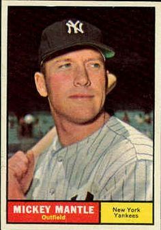 Mickey Mantle 1961 TOPPS