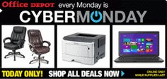 Office Depot Cyber Monday Online Deals – Today Only!