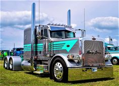 New Semi Truck Accessories Peterbilt 64 Ideas Old Ford Trucks, Peterbilt Trucks, Big Rig Trucks, Dump Trucks, Diesel Trucks, Cool Trucks, Pickup Trucks, Peterbilt 389, Ford Diesel