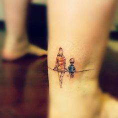Siluetas Madre E Hijo Por Martina Wendy Goracci Tatuajes De Hijos