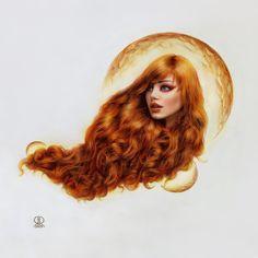Gold Art Print by Ronald Restituyo