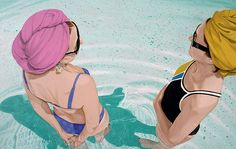 Bathing Series // Nina Nolte | Afflante.com