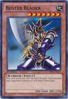 Yu-Gi-Oh! - Buster Blader (BP01-EN117) - Battle Pack: Epic Dawn - 1st Edition - Common $1.49