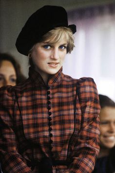 Princess Diana at the Braemar Highland Games, September 1982 in Scotland. (Photo by Anwar Hussein/WireImage)