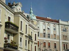 Visitez Belgrade (Виситез Белград) Belles façades dans le quartier du Palais de la Princesse Ljubica.