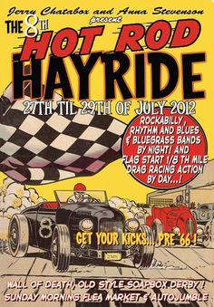 The Hot Rod hayride
