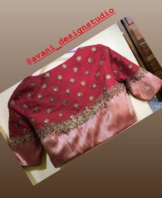 New Fashion Work Dress Neckline Ideas Saree Blouse Neck Designs, Fancy Blouse Designs, Bridal Blouse Designs, Pattern Blouses For Sarees, Stylish Blouse Design, Designer Blouse Patterns, Necklines For Dresses, Hand Embroidery, Embroidery Blouses
