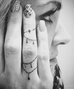 12 Unique Girlish Hand Poked Tattoos You Will Love To Get Inked