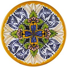 Talavera Dinnerware Collection - Dinnerware Pattern 38 - SET038 ♥️♣️♣️Talavera Mexican Pottery : More At FOSTERGINGER @ Pinterest ♣️