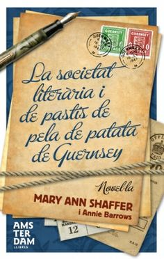 Day 21, my favourite book title: The Guernsey Literary and Potato Peel Pie Society. Original title for a lovely book.