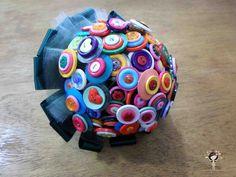 Buquê de botões para noivas crafts e criativas!