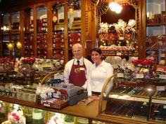 Roger's Chocolates in Victoria, BC--looks just like the place on Main Street in Harrodsburg, KY-Harrodsburg Fudge Company--it's beautiful!