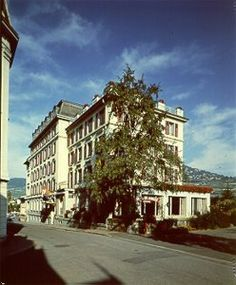 Hotel de Famille - Vevey, Switzerland. This hotel is old, basic, simple. But clean. Third time staying here and it has so many good memories, so I don't mind. In the city centre next to the station.