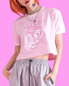 Screen Printing, Crop Tops, Cool Stuff, Size 10, Pink, Fabric, Model, Cotton, How To Wear