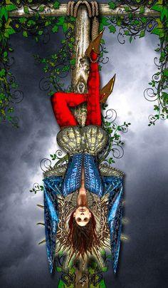 The hanged man  Tarot illuminati