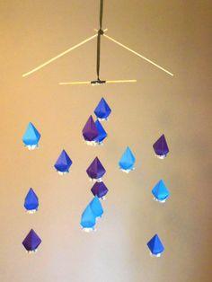 Origami Mobile Bamboo Frame by LoftedDreams,