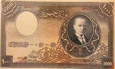 """Abdülhalik Renda'nın imzalı ilk kağıt Türk lirası, İngiltere'de """"Thomas de la Rue"""" matbaasına yaptırılır. 1.5/ 10/ 50, 100/ 500 ve ++"""