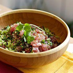Découvrez la recette Tartare de thon sur cuisineactuelle.fr.
