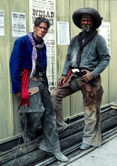 Thomas Haden Church and Stephen Lang as Billy & Ike Clanton in Tombstone Western Film, Western Movies, Western Art, Western Style, Cowboys And Indians, Real Cowboys, Hot Cowboys, Cowboy Art, Western Cowboy