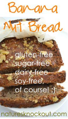 Best Grain free Banana Bread Recipe - Paleo+