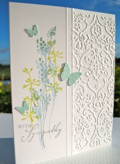 Wahine Inks...: Sympathy Card-Linda and I used this for our inspiration for our March 30, 2016 stampfest.