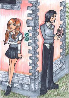 severus lily comic | Severus Snape and Lily Evans by KakeruTamaki