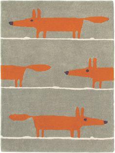 Scion Kinderteppich Mr Fox