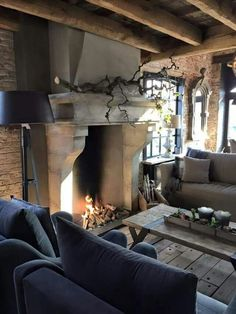 30 European Cottage Design Inspiration - Cottage are usually well known in several countries European nations and Canada especially. An exhaustive number of Cottage comes in various locations. by Joey House, Home, Country Cottage, House Styles, Cottage Design, House Interior, Interior Design, Fireplace, Rustic House