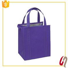 2017 Hot Sales Heavy Duty Large Capacity insulated bag for frozen food / insulated shopping bag