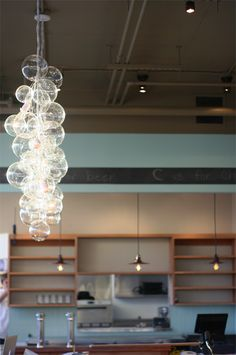 Lightbulb Chandelier