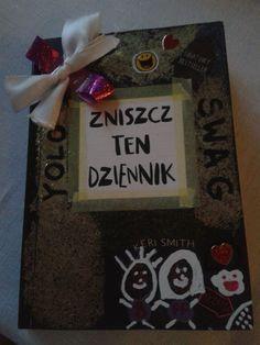 Podesłała Pola Polaczek #zniszcztendziennik #kerismith #wreckthisjournal #book #DIY