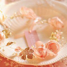 Schöne Nachahmungen von Perlen/Kunstseide/Kupfer Blumen und Federn/Stirnbänder (042063207) - JJsHouse