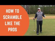 How To Scramble Like The Pros - Golf Tips with Tyler Dice Golf