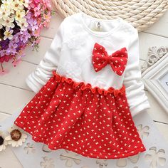 if u don't know how to dress ur baby, just buy a casual dress.  i don't like this normal feel, but honestly, beaautiful