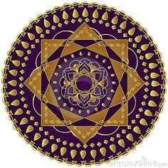 Elegant Mandala by Bibidesign