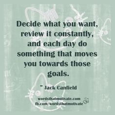What You Want Jack Canfield