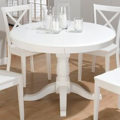 Fantastisch Runde, Weiße Küche, Tisch #Küche Dies Ist Die Neueste Informationen Auf Die  Küche