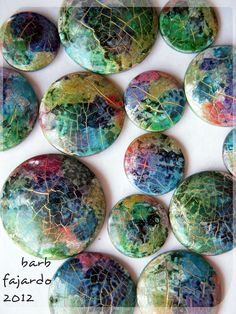 watercolorcrackleexperiments | difficult to get a good photo… | Flickr