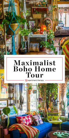 Boho Home Tour: A Maximalist Bohemian Home on a Colorado Farm. Need ideas and inspiration for spaces Bohemian Furniture, Bohemian Interior, Bohemian Decor, Bohemian Style, Bohemian Homes, Modern Bohemian, Vintage Bohemian, Modern Hippie Decor, Hippie House Decor