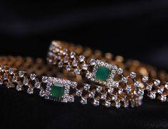 pandora arc bracelet or rose Gold Diamond Earrings, Diamond Bangle, Diamond Jewelry, Gold Bangles Design, Jewelry Design, Schmuck Design, Jewelry Patterns, Silver Diamonds, Silver Bracelets
