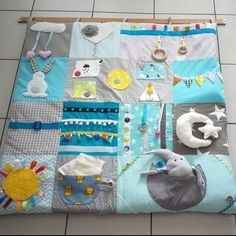 Baby Play, Baby Toys, Baby Quilt Tutorials, Cushion Cover Designs, Fidget Quilt, Activity Mat, Baby Sewing Projects, Baby Couture, Baby Quilts