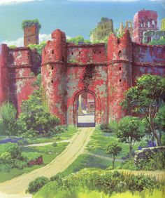 Flooby Nooby: The Art of Studio Ghibli - Part 7