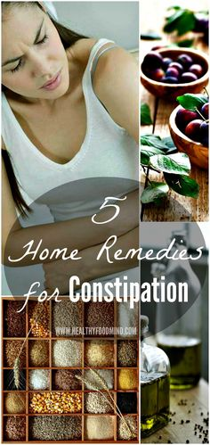Constipation can usually be treated effectively at home! Learn effective home remedies for constipation you can find in your kitchen...