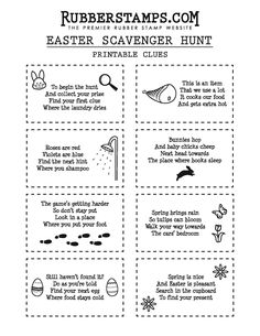 These free printable Easter Scavenger Hunt clues are SO much fun! Let the Easter Bunny lead your children on a super fun treasure hunt for their baskets using these cute scavenger hunt cards! Easter Riddles, Easter Activities, Easter Games, Scavenger Hunt Birthday, Scavenger Hunt For Kids, Scavenger Hunts, Easter Scavenger Hunt Riddles, Easter Egg Hunt Clues, Easter Eggs