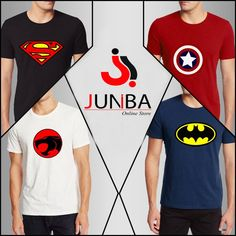 Buy Pack Of 4 Superman Captain America Tiger & Batman For at Ba - Batman Tshirt - Trending batman tshirt - Buy Pack Of 4 Superman Captain America Tiger & Batman For at Batman Tee Trending and fashionable Batman Tee Cool Shirts, Tee Shirts, Batman Gifts, Batman Shirt, Batman Family, Deal Today, Tshirts Online, Mens Tees, Captain America