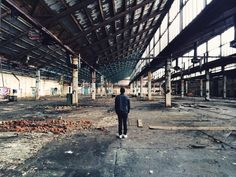 ##exploring abandoned place with my friend #iphone5s #urban
