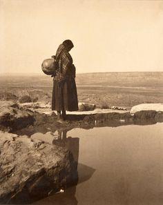 Hopi Mirror, Walpi, Arizona (early 1900s).