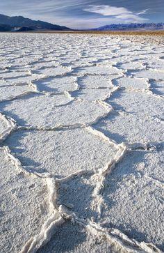 Salt Flats, Death Valley, California