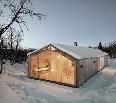 Nordic winter home