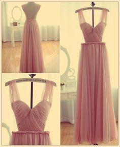 bernard lafond light pink dress